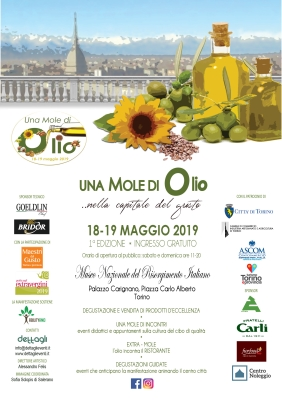 UNA MOLE DI OLIO Prima Edizione - Torino