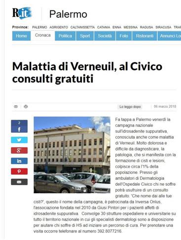 Malattia di Verneuil, al Civico consulti gratuiti