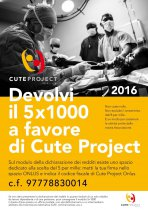 5x1000 a favore di Cute Project Onlus
